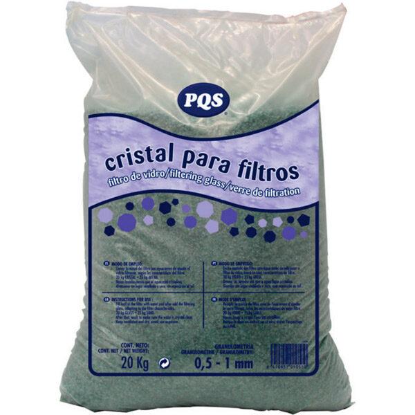 Cristal para Filtro saco 20 Kg PQS