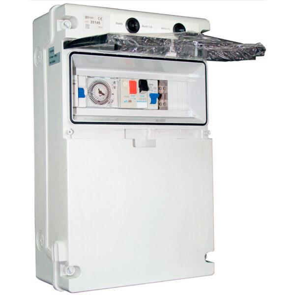 Cuadro eléctrico con transformador PQS