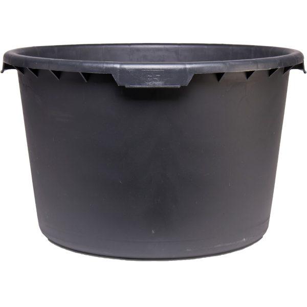 Cubetas de plástico negro Rubimix-N