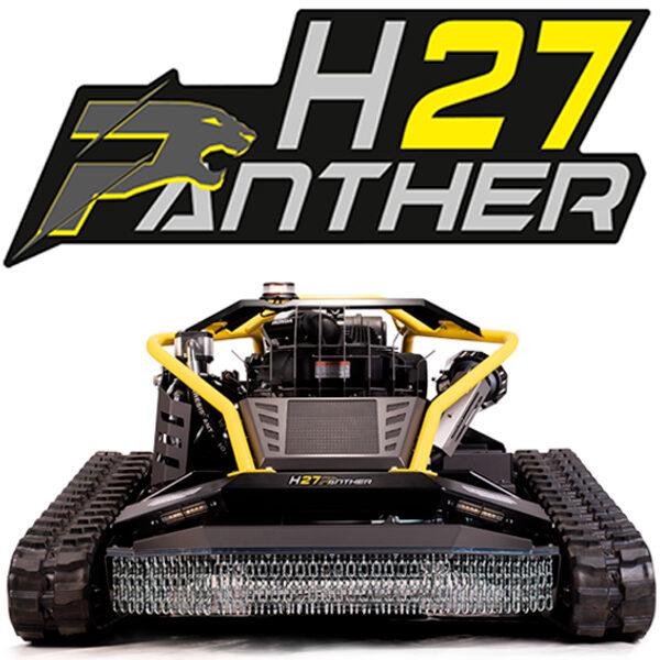 Máquina desmalezadora a control remoto Ecotech H27 PANTHER