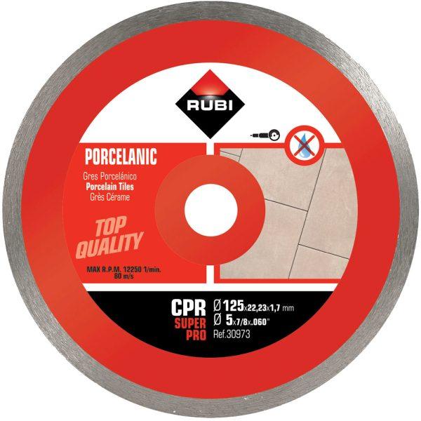 Disco de diamante Rubi CPR 125 SUPERPRO