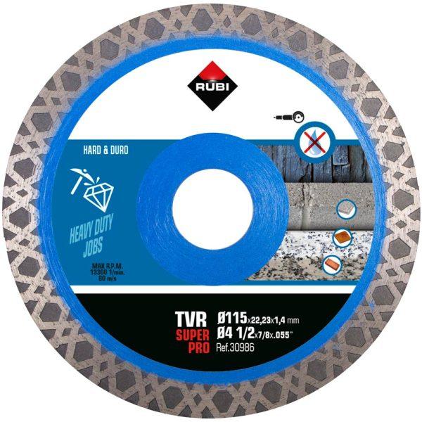 Rubi TVR 115 SUPERPRO Diamantklinge