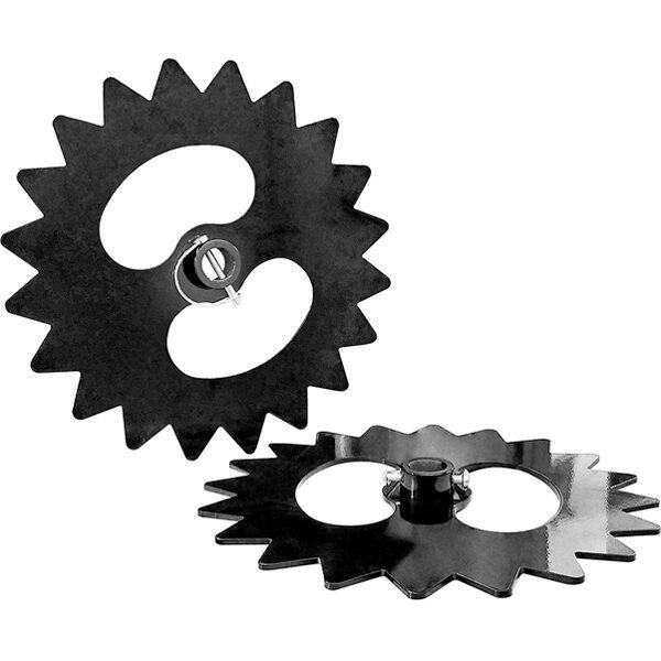 Discos de ruedas dentados de hierro Grillo HWT 700 Supertrac
