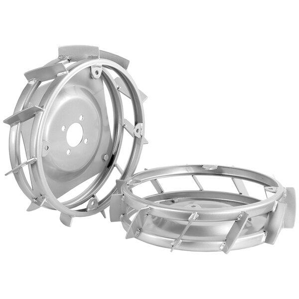 Juego de ruedas de hierro 40 x 10 cm Grillo CL 75