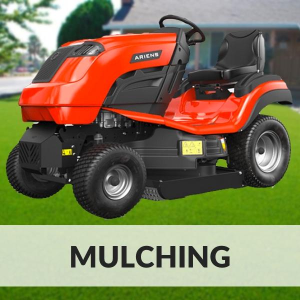 tractor cortacesped mulching