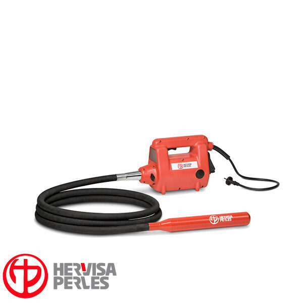 Motor eléctrico monof. vibrador hormigón Hervisa Perles CMP con aguja AM 50/4