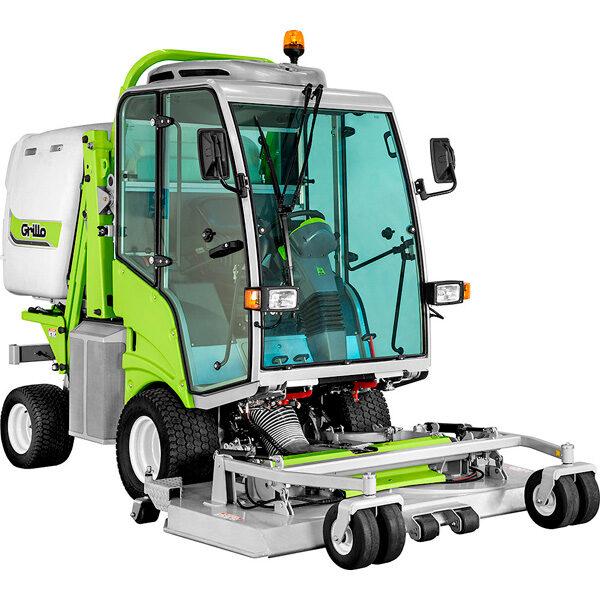 Tractor cortacésped Grillo FD 2200 TS 4WD Motor Yanmar 2190 cc con Cabina Premium