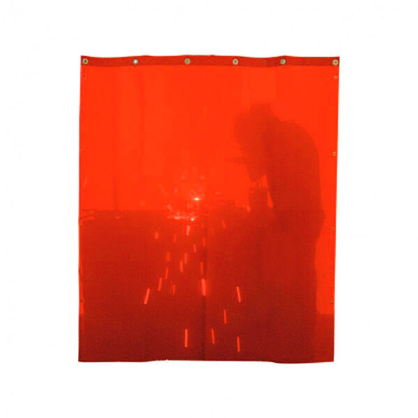 Cortina de Soldadura Rojo SOLTER