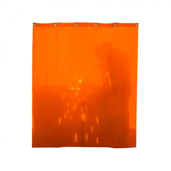 Cortina de Soldadura Naranja SOLTER