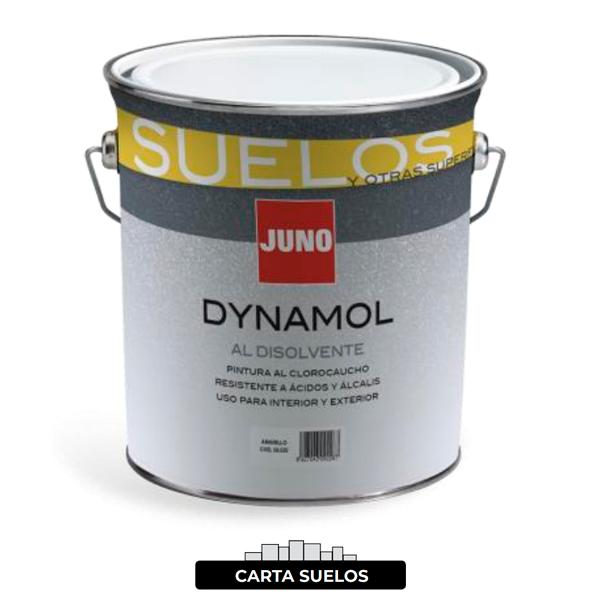 Pintura para suelos e instalaciones deportivas DYNAMOL