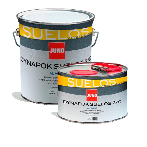 Pintura para suelos e instalaciones deportivas DYNAPOK Agua Suelos 2/C