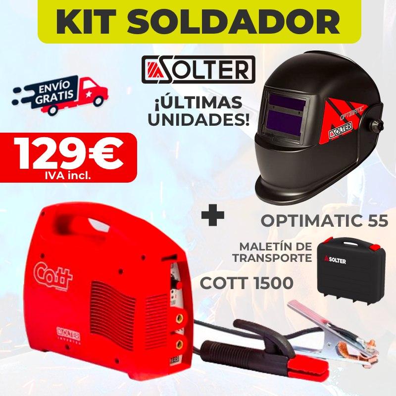 kit soldador solter oferta