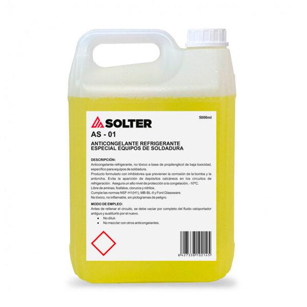 Líquido Refrigerante Antorchas SOLTER 5L
