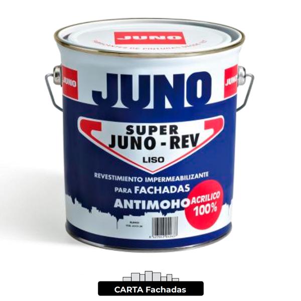 Pintura de fachada Juno SUPER JUNOREV Carta Fachadas