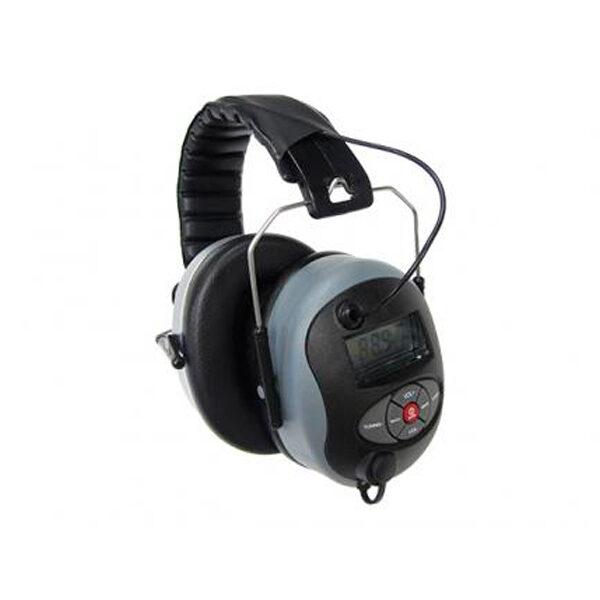 Schutzkopfhörer mit Radio-MP3-ANOVA