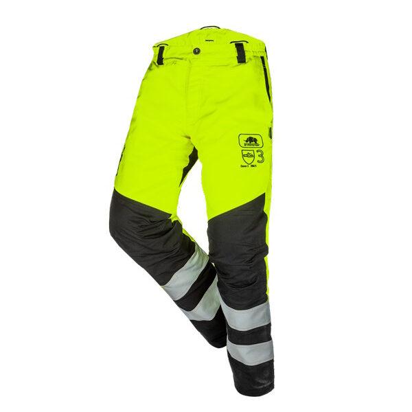 Pantalón Anticorte Alta Visibilidad Amarillo Clase 3 ANOVA