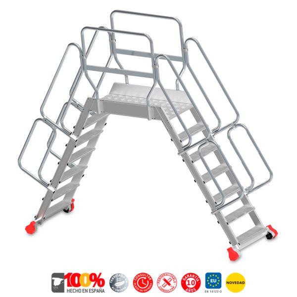 Escaleras de aluminio Faraone SP-T