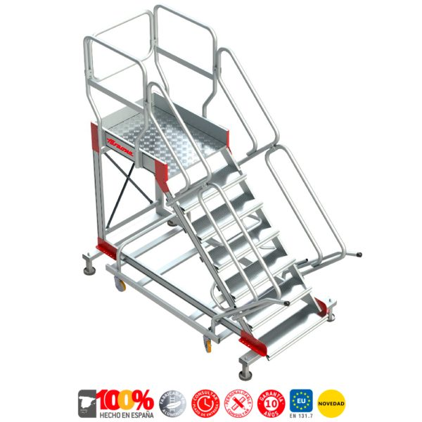 Escaleras de aluminio Faraone SY-T