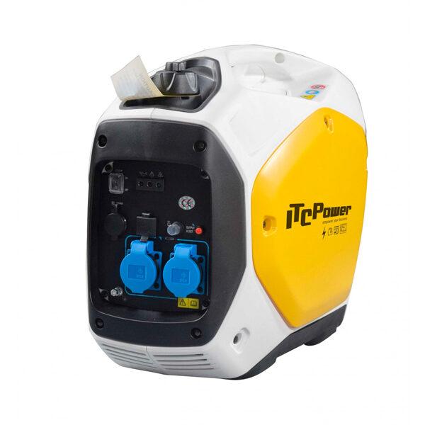 Generador Eléctrico Inverter ITC Power GG22i de Gasolina 2200W