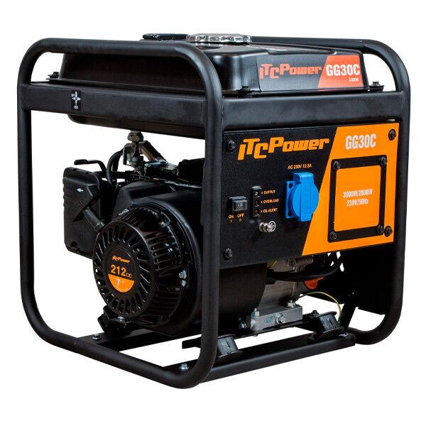 Generador Eléctrico Inverter ITC Power GG30C de Gasolina 3000W