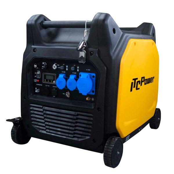 Generador Eléctrico Inverter ITC Power GG65EI de Gasolina 6500 W