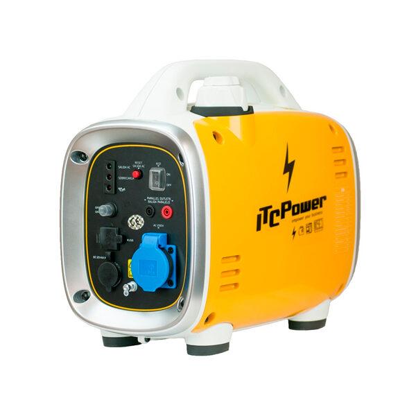 Generador Eléctrico Inverter ITC Power GG9I de Gasolina 900 W