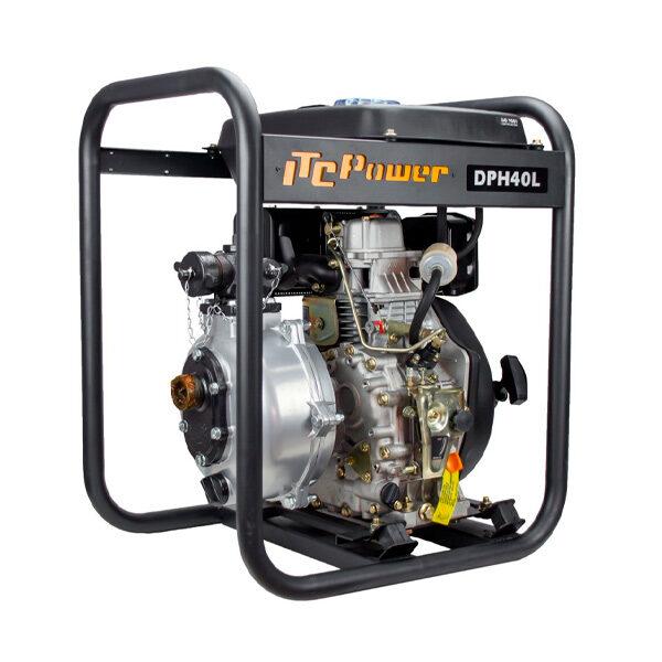 Motobomba Diesel ( Alta presión ) ITCPower DPH40L