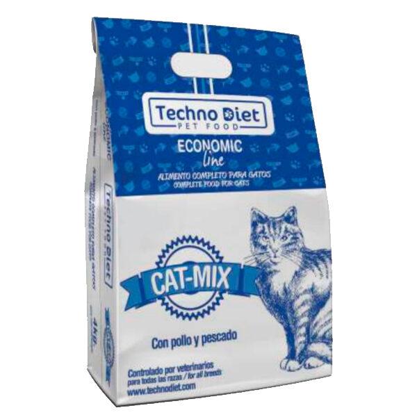Pienso para gatos Techno Diet Cat Line Cat Mix CP1 4Kg