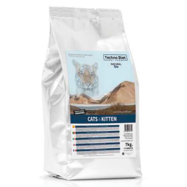 Pienso para gatos Techno Diet Cat Line Cats & Kitten C2 10Kg
