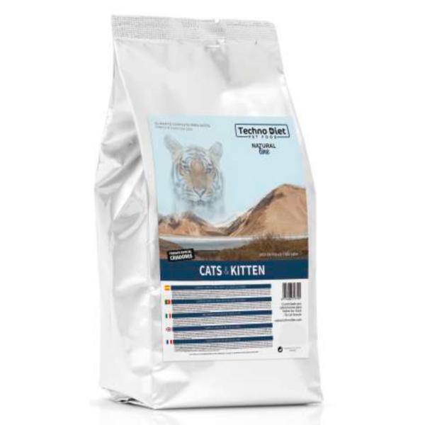 Pienso para gatos Techno Diet Cat Line Cats & Kitten CP2 3Kg