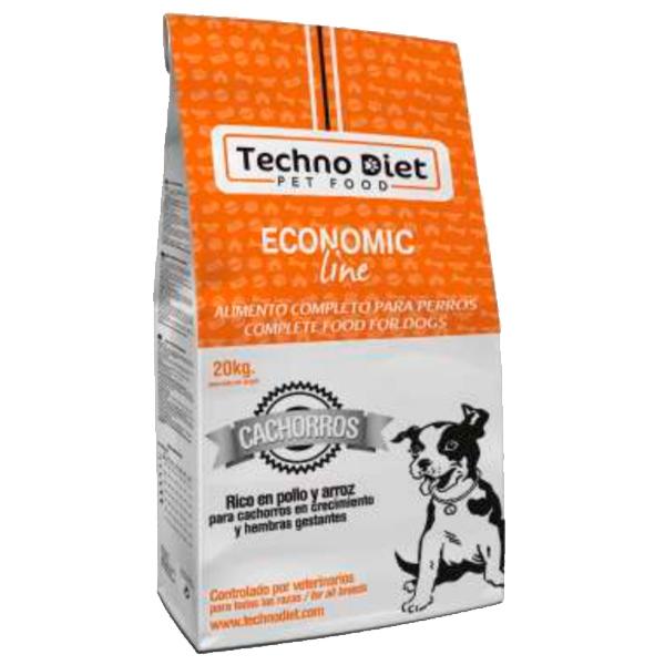 Pienso para perros Techno Diet Economic Line Cachorros E4 20Kg
