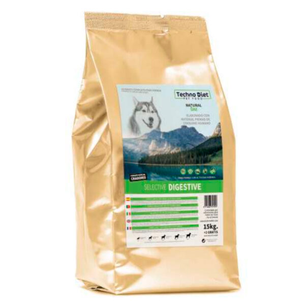 Pienso para perros Techno Diet Natural Line Selective Digestive N1 17Kg