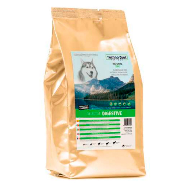 Pienso para perros Techno Diet Natural Line Selective Digestive NP1 3Kg