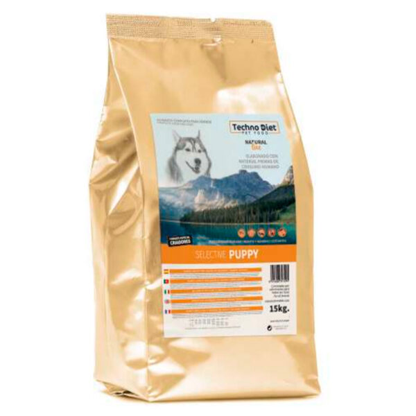 Pienso para perros Techno Diet Natural Line Selective Puppy N3 15Kg