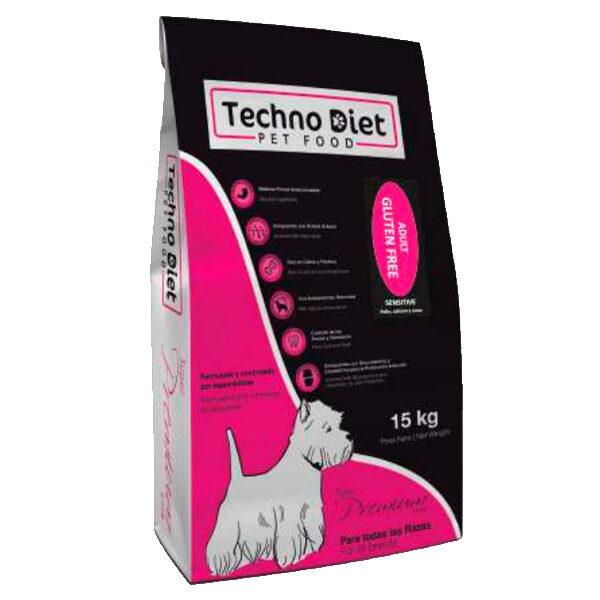 Pienso para perros Techno Diet Super Premium Line Adult Gluten Free SP3 15Kg