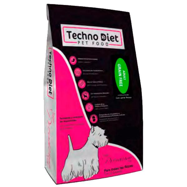 Pienso para perros Techno Diet Super Premium Line Adult Grain Free SPP5 3Kg