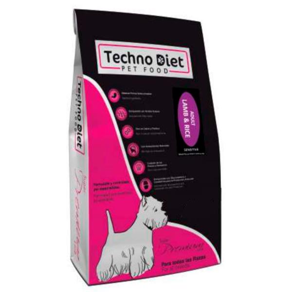Pienso para perros Techno Diet Super Premium Line Adult Lamb & Rice SPP4 3Kg