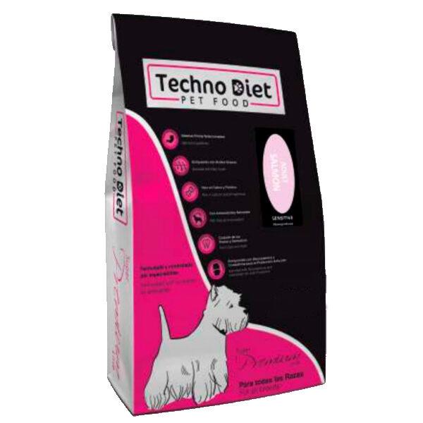 Pienso para perros Techno Diet Super Premium Line Adult Salmon SPP2 3Kg