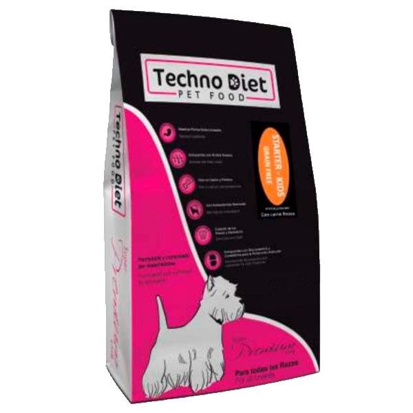 Pienso para perros Techno Diet Super Premium Line Starter Kids SPP6 3Kg
