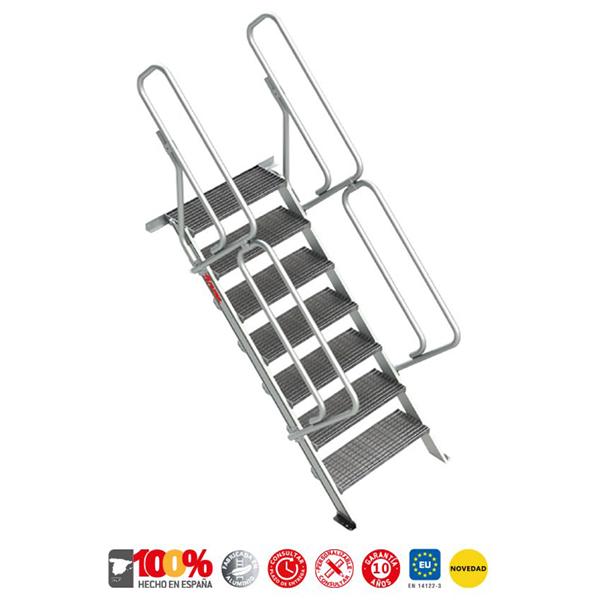 Escaleras de aluminio Faraone SG-T