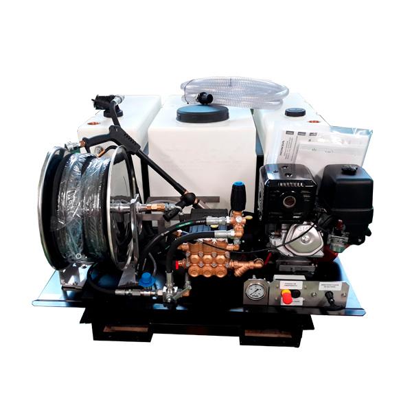 Hidrolimpiadora autónoma gasolina STARK EQCIWS1630 H AE DP motor Honda GX270