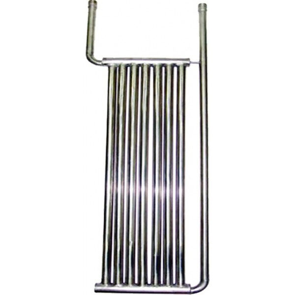 INOX-Röhrenkühlplatte Modell 1500 X 375