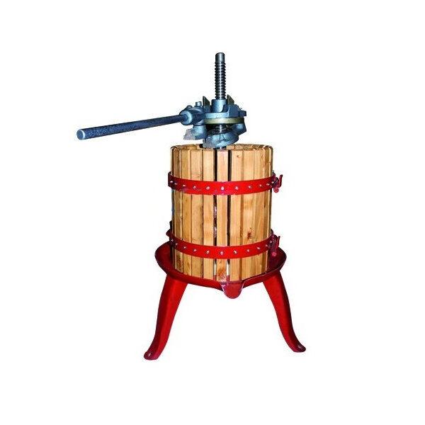 Manuelle Holz-Weinpresse 5kg INV VENMPREMA-015