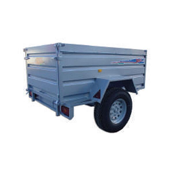 Remolque Yunque R.CNT-752 200x130x75 con rueda todo terreno
