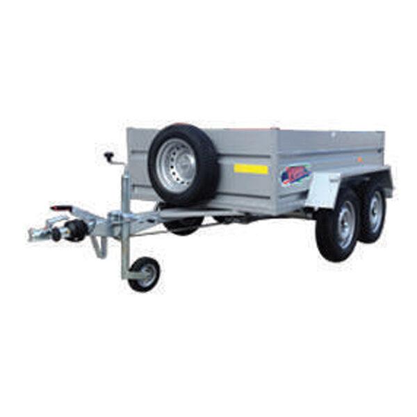 Remolque Yunque R.CRF-753 220X130X45 R-13 tandem 750Kg
