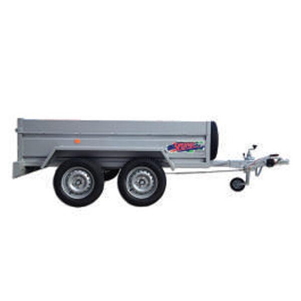 Remolque Yunque R.CRF-754 250X140X45 tandem 750 Kg
