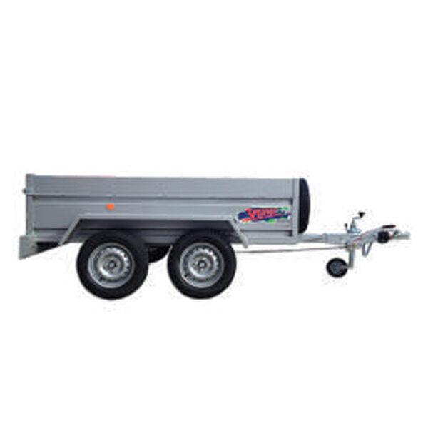 Remolque Yunque R.CRF-754 250X163X45 R-13 tandem 750 Kg