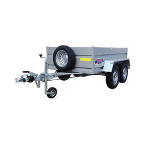 Remolque Yunque R.CRF-754 250X163X45+SOB 100 R-13 tandem 750 Kg
