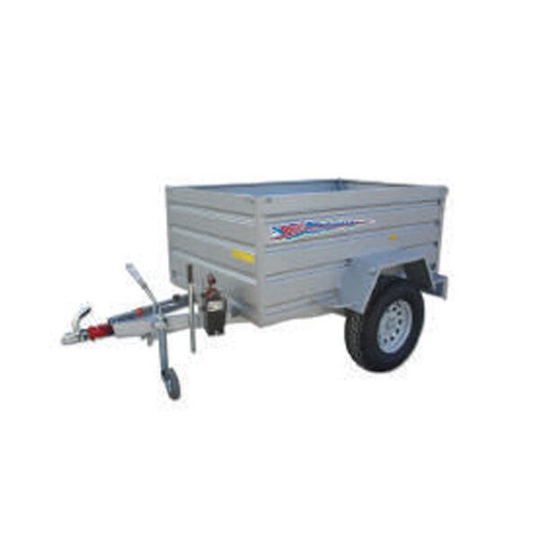 Remolque Yunque R.CNT-752 200x130x75 con rueda tt basculante hid. manual