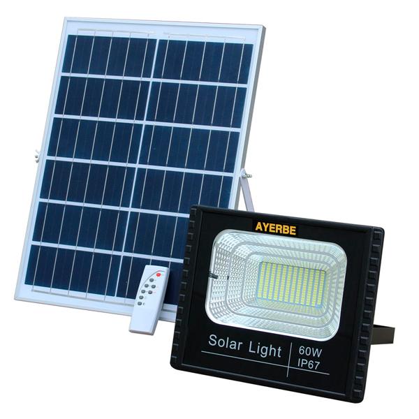 60W Solarstrahler mit Fernbedienung Ayerbe